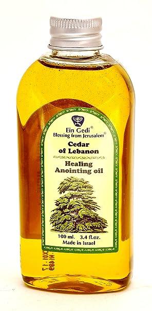 Healing Anointing Oil Cedar of Lebanon 100 ml - 3 4fl oz From