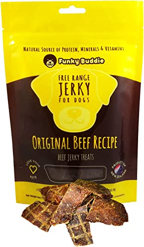 Funky Buddie Original Recipe Jerky Dog Treats Beef