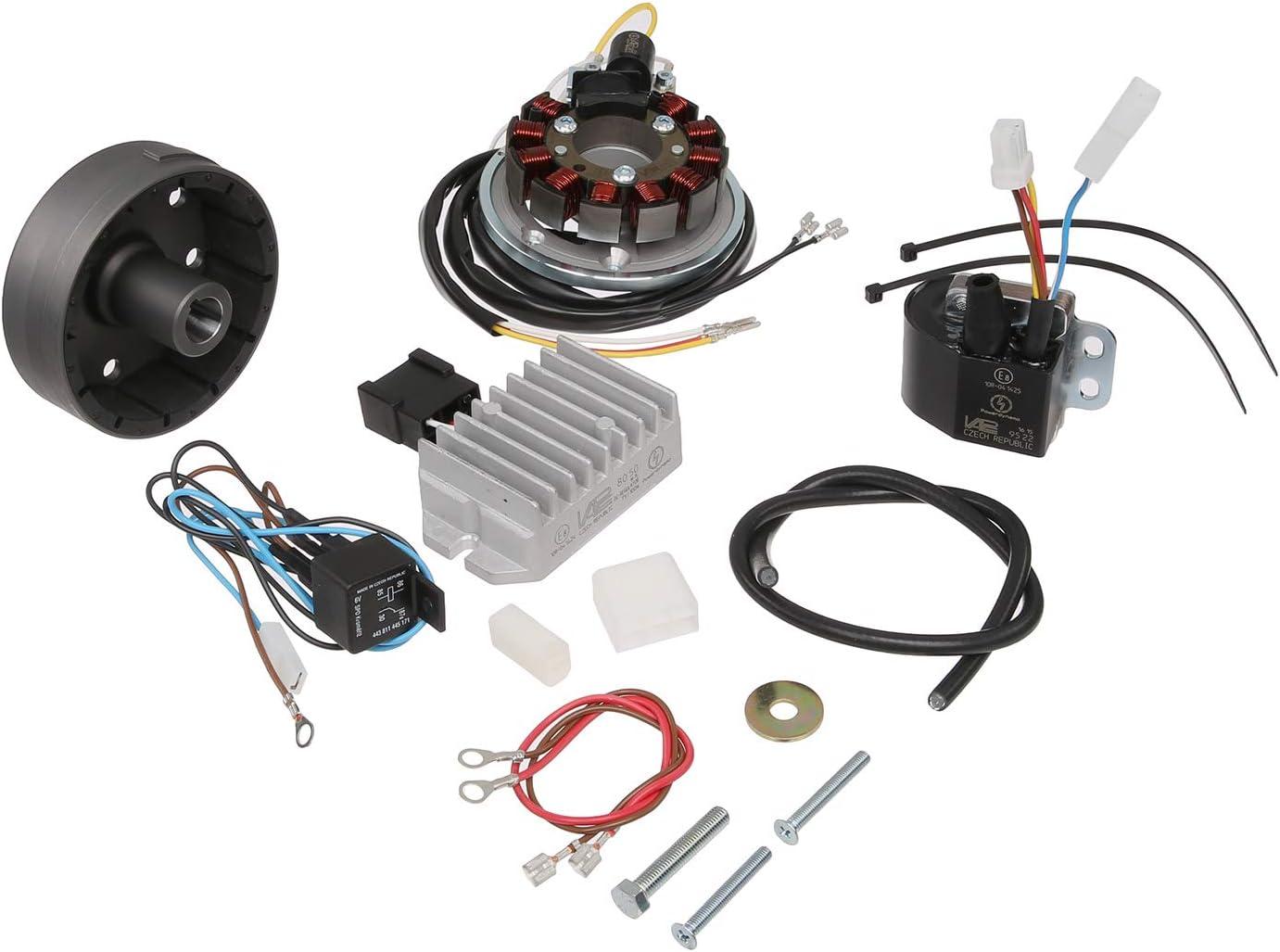 Lichtmagnetz/ündanlage 6V 100W mit integrierter vollelektronischer Z/ündung f/ür ES175-300//0//1//2 und ETS250