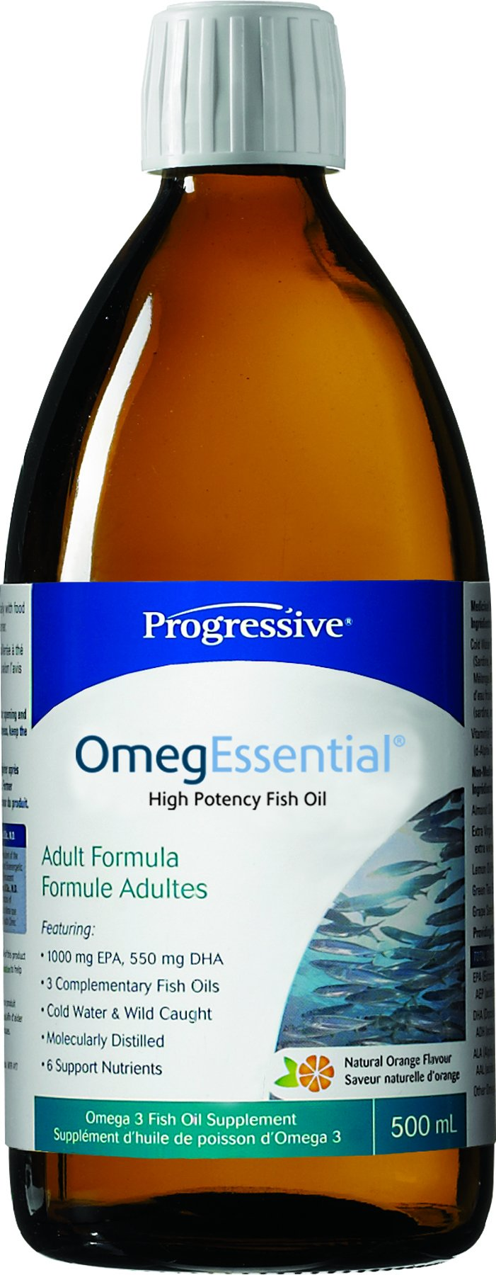 Progressive OmegEssential Fish Oil, 500 ml