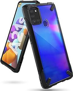 Ringke Fusion X Case Designed for Galaxy A21s - Black