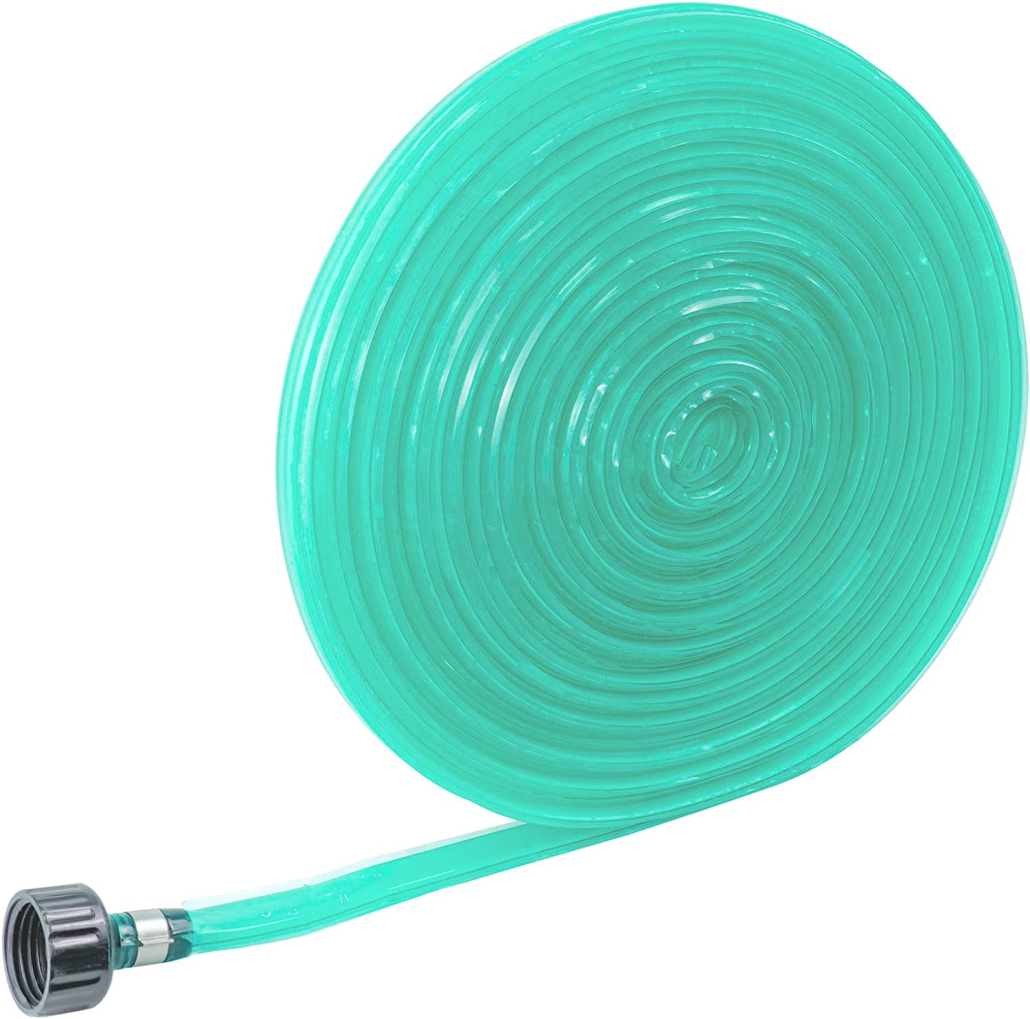 N\A FLORIAX Heavy Duty Sprinkler and Soaker Hose 50FT Ground Soaker Garden Hose Savings 70% Water Dripping Water Hose Perfect for Garden Flowers Beds