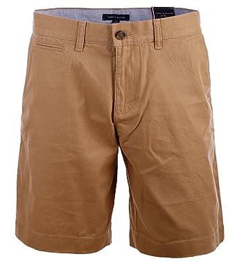 6a185188c87c Tommy Hilfiger Herren Chino Shorts kurze Hose Bermuda 9 Inch khaki Größe 40