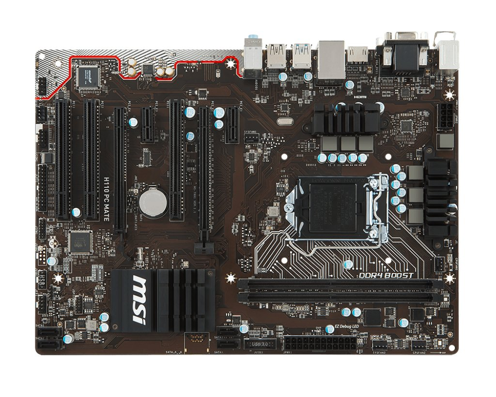 MSI H110 PC MATE Last