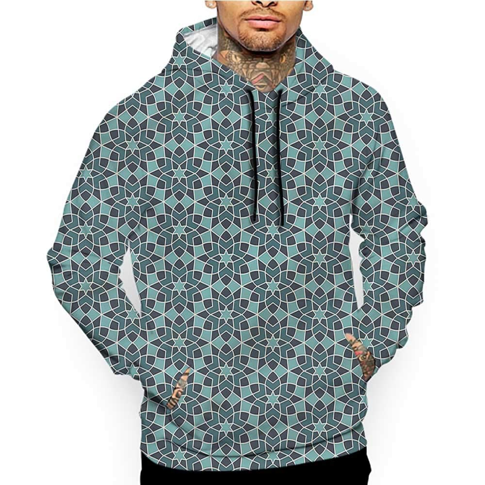 Hoodies Sweatshirt/Autumn Winter Arabesque,Ornamental Eastern Motif,Sweatshirt Blanket Throw