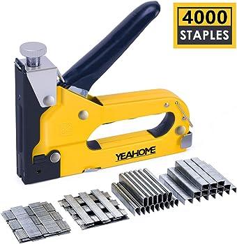 Yeahome Upholstery Gun Heavy Duty 4 IN 1 Stapler