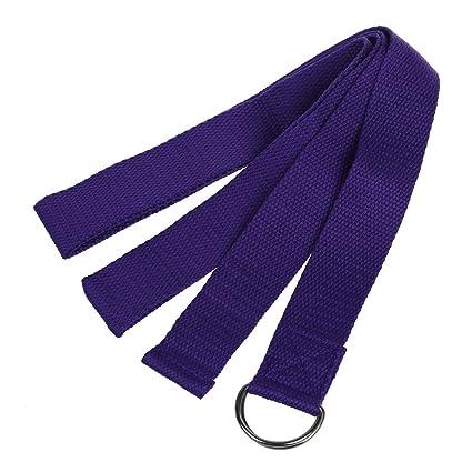 Nrpfell Cinturon de Estiramiento Largo para Yoga Correa de ...