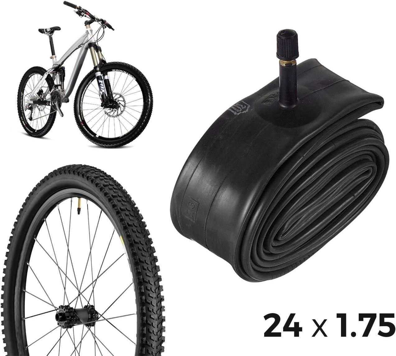 304550 Cámara de aire para bicicletas reparación de pinchazos 24 x ...