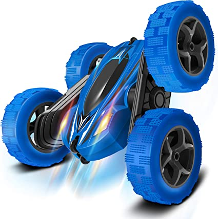 Amazon Com Remote Control Car Rc Cars Drift High Speed Off Road Stunt Truck Race Toy With 2 Rechargeable Batteries 4 Wheel Drive Cool Birthday Gifts For Boys Age 3 5 6