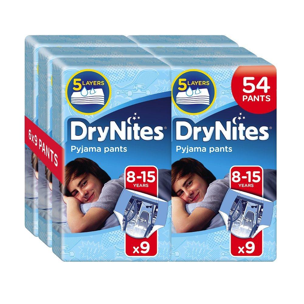 DryNites hochabsorbierende Pyjama Unterhosen für Mädchen, 4-7 Jahre, 3er Pack (3 x 30Stück) 3er Pack (3 x 30Stück) Huggies 2142201