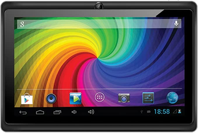 Micromax Funbook P280 Tablet with Leather Case and Keyboard (7 inch,4GB,  WiFi+3G via Dongle), Grey