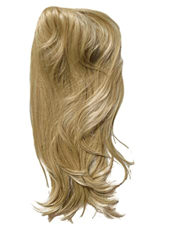 Amazon one piece clip in hair extensions light honey blonde one piece clip in hair extensions light honey blonde half wig hairpiece synthetic pmusecretfo Gallery