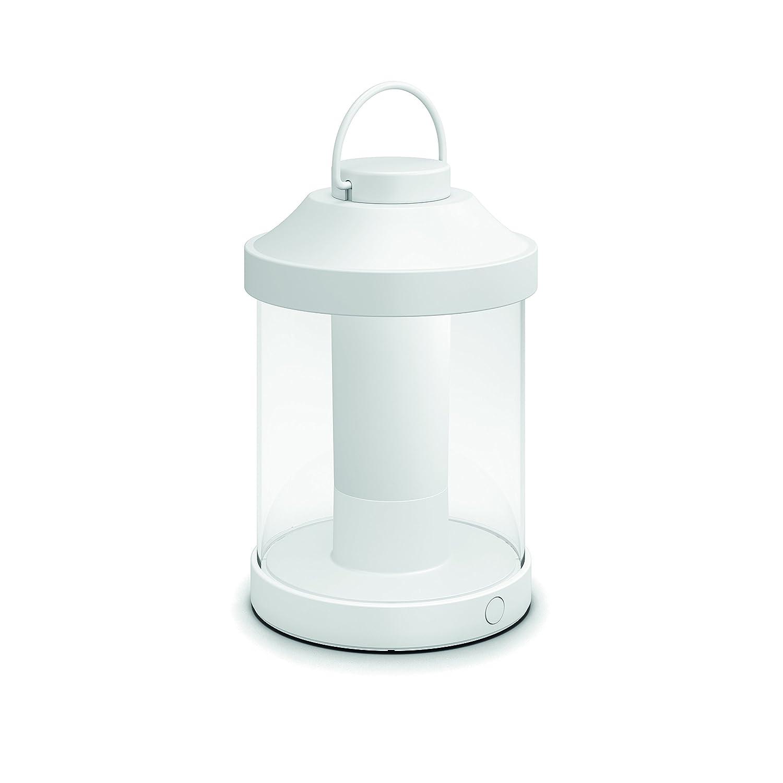 Philips Abelia Lampada da Tavolo da Esterno senza Fili, LED Integrato, Bianco