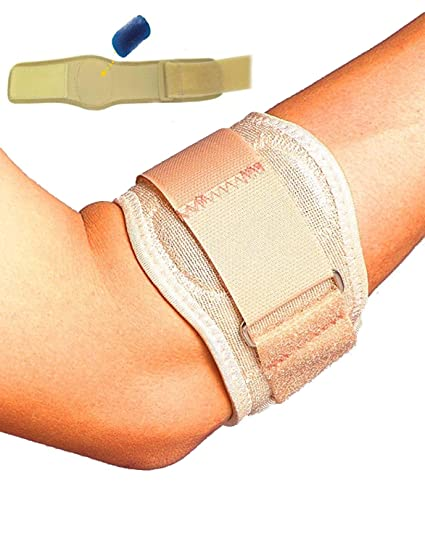 c0bdea45d6 Solace Care Tennis Golfers Elbow Support Strap | Lateral & Medial  Epicondylitis Brace Clasp | Pressure