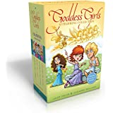 The Goddess Girls Charming Collection Books 9-12 (Charm Bracelet Included!): Pandora the Curious; Pheme the Gossip; Persephon