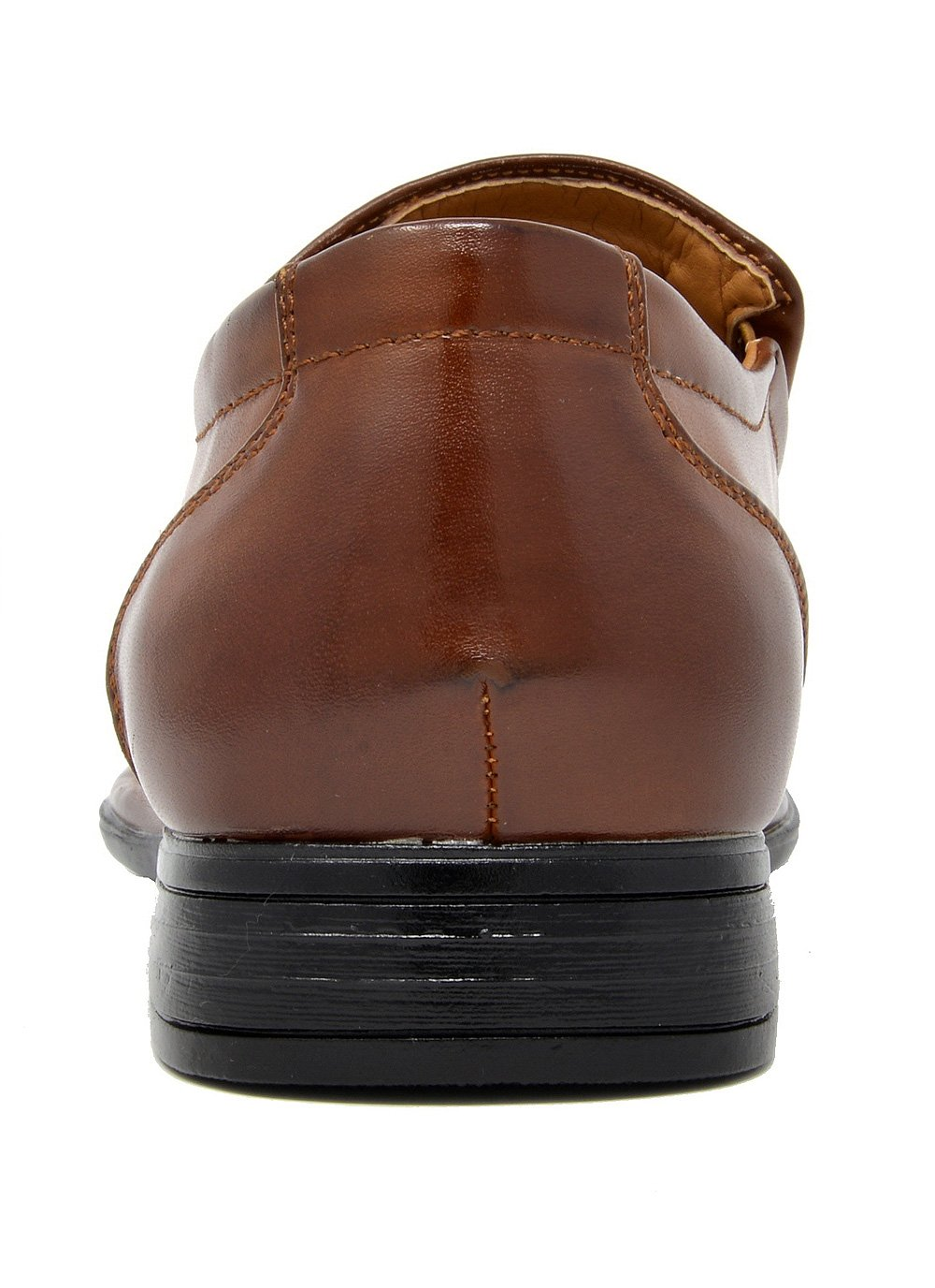 Bruno Marc Men's Giorgio-1 Brown Leather Lined Dress Loafers Shoes - 11 M US by BRUNO MARC NEW YORK (Image #6)
