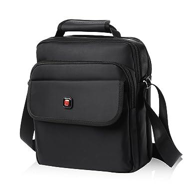 ce95e0a022ef Soperwillton Vertical Shoulder Messenger Bag for iPad