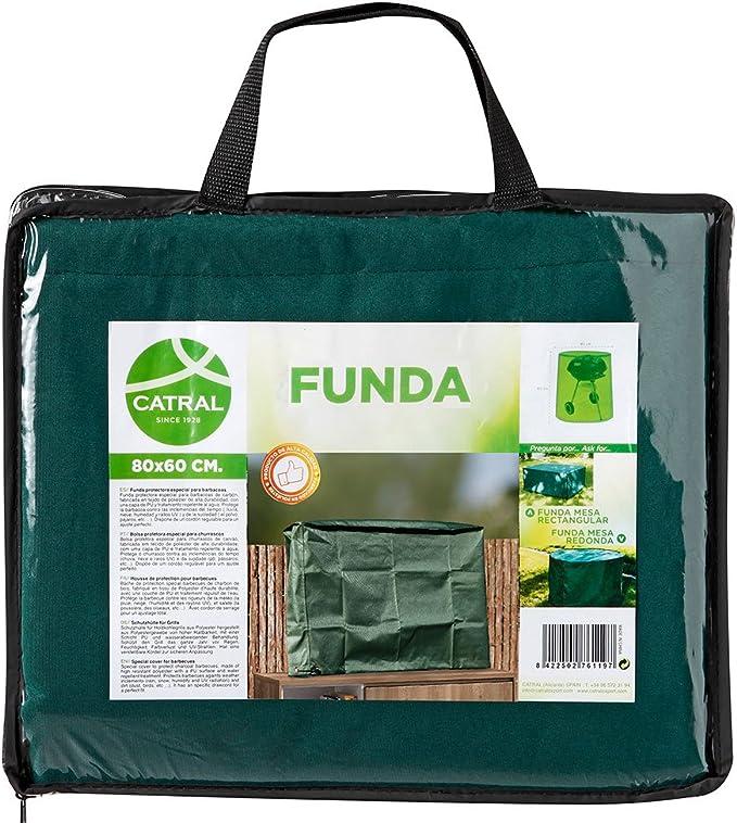 Catral 57010036 Funda TV para Exterior, Verde, 60x15x90 cm: Amazon ...