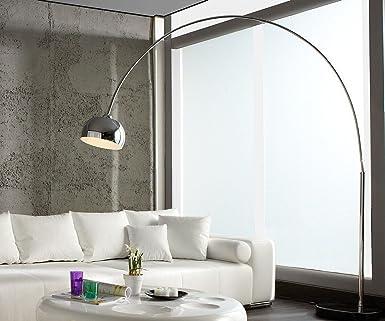 Stehleuchte ARIAN Stehlampe Bogenleuchte Bogenlampe Wohnzimmer Beleuchtung