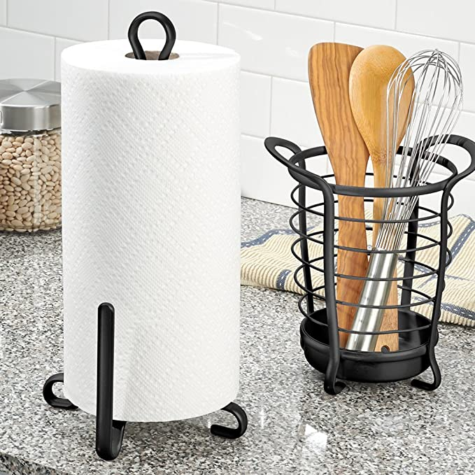InterDesign Axis Küchenpapierrollenhalter | Haushaltsrollenhalter ...
