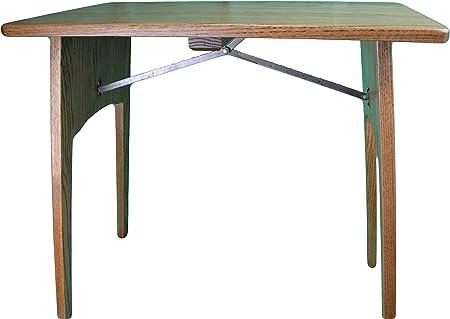 Fireside acabado roble mesa plegable mesa de roble plegable hecho ...