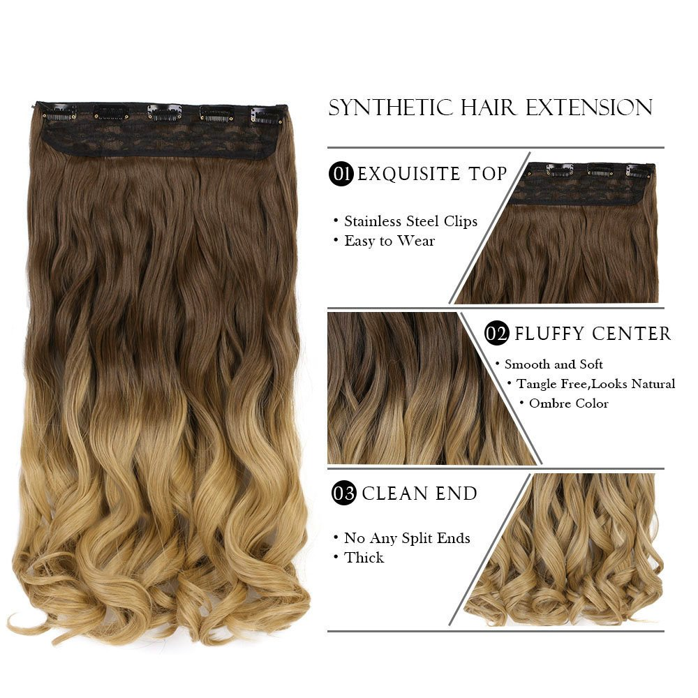 Amazon Neverland Beauty 24 Synthetic Curly Two Tone Ombre