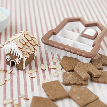 Amazon.com: Sweet Creations 3D Mini Gingerbread House Cookie ...