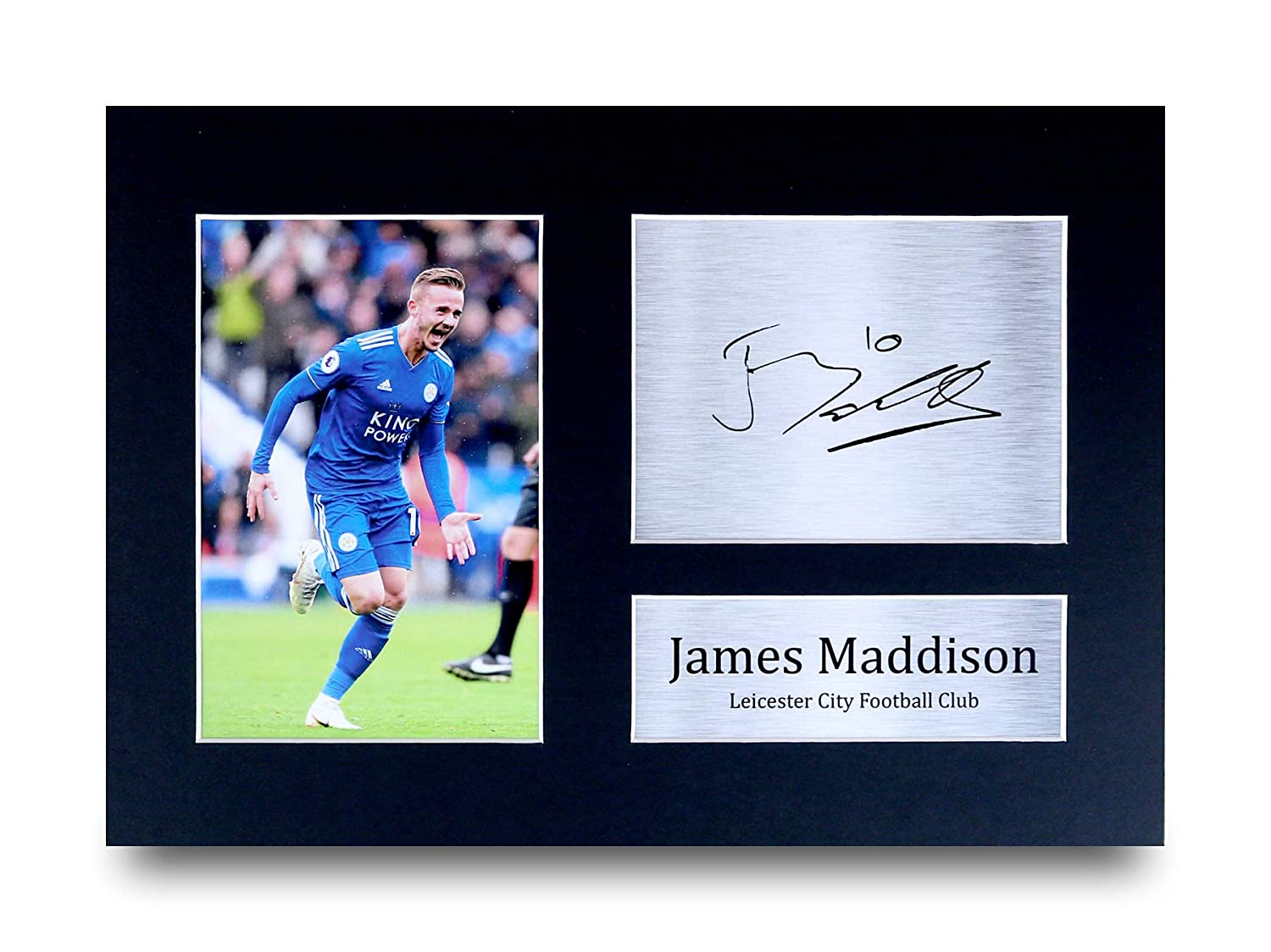 HWC Trading Harry Maguire Gift Signed A4 Printed Autograph Leicester City Gifts Photo Display