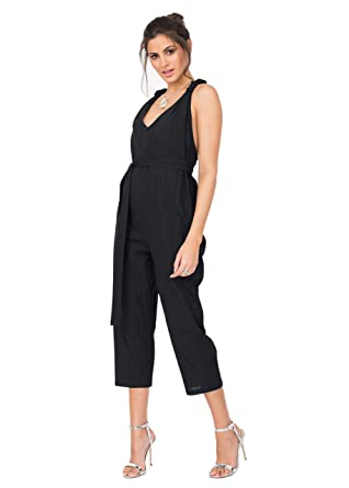 050f13c80a98 Amazon.com: likemary Summer Romper Racer Back Cropped Vacation Jumpsuit:  Clothing