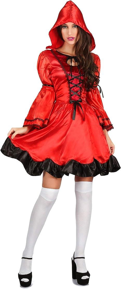 Generique - Disfraz Caperucita del Bosque Rojo Mujer L: Amazon.es ...