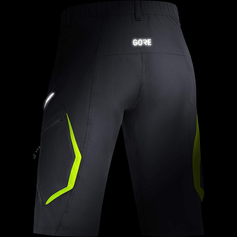 GORE Wear C3 Mens Shorts Black Gore Bike Wear 100047 XL