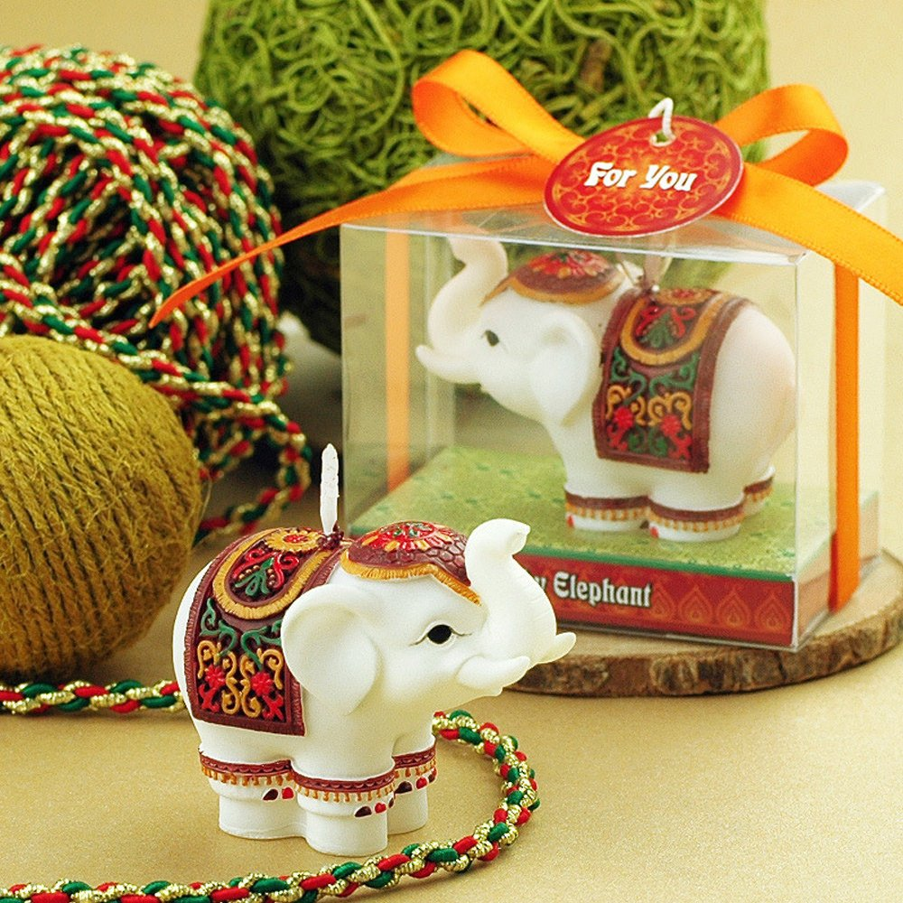 Granvela Creative Elephant Smokeless Candles,Cake Decorating and Party Supplies, Charming Gifts by Granvela