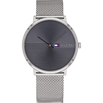 79b412776 Amazon.com: Tommy HilfigerMens Analog Grey Business Quartz Tommy ...