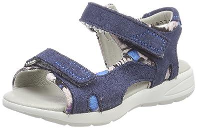 Däumling 270101S, Bout Ouvert Fille - Bleu - Bleu (Turino Jeans 42), 35 EU