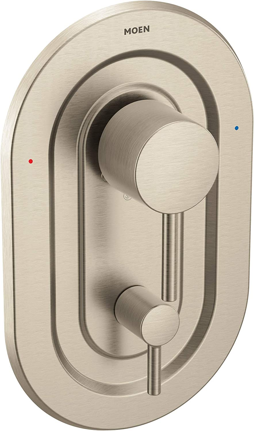 Moen T2190BN Align Posi-Temp with Built-in 3-Function Transfer Valve Trim Kit, Valve Required, Brushed Nickel