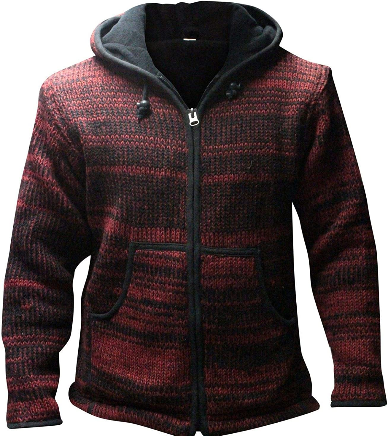 Shopoholic Fashion Mens Tie dye Woolen Hippie Jacket