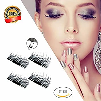 b0ee00a7433 Magnetic False Eyelashes New 3D Ultra-thin Magnetic Fake Eyelashes by  Stanaway, 1 pair