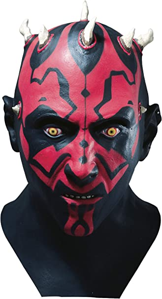 Masque Carton Darth Maul Star Wars Generique