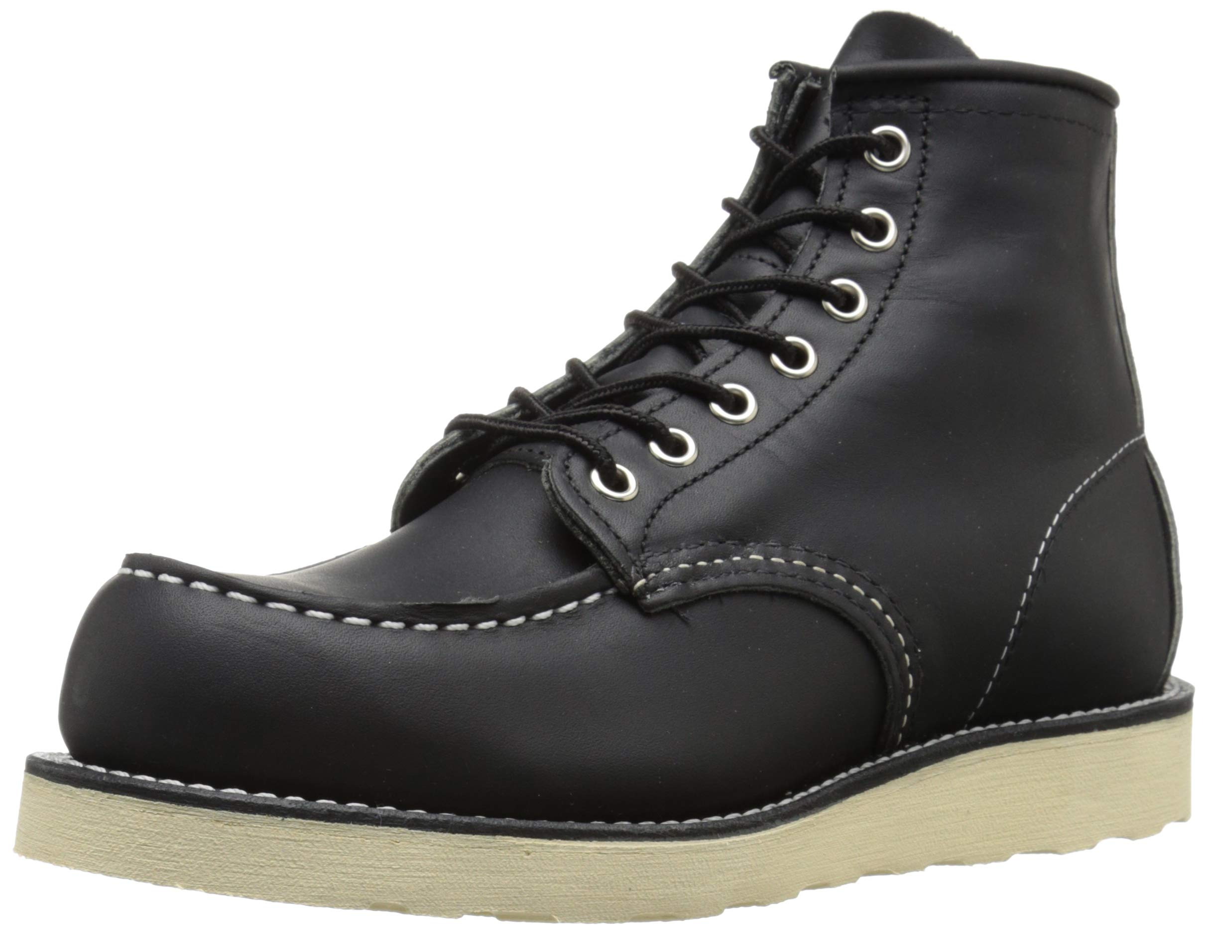"""Red Wing Heritage Moc 6"""" Boot, Black Harness, 11.5"""