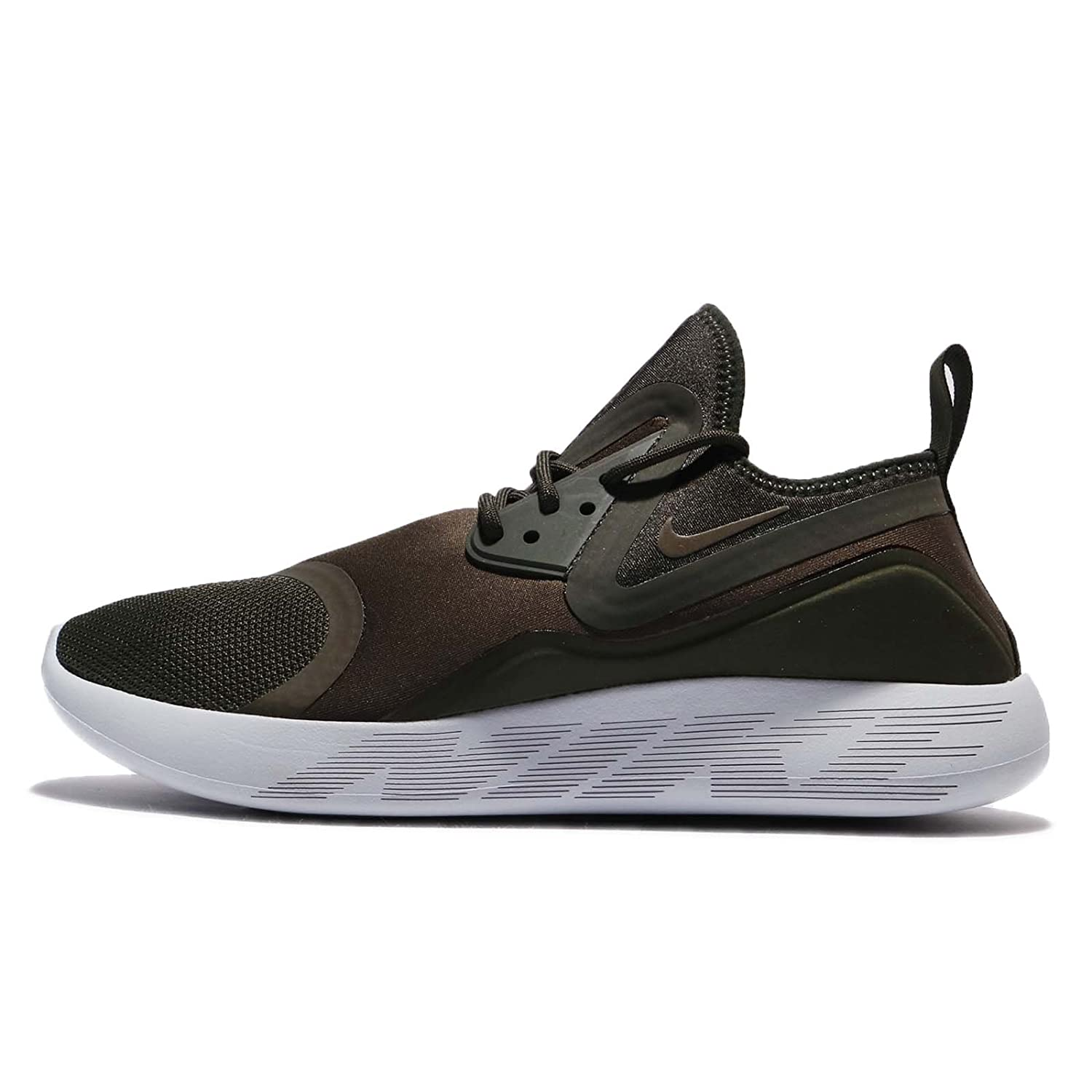 NIKE Mens Lunarcharge Essential Round Toe Training Running Shoes B07457T65Y 11.5 D(M) US|Cargo Khaki 301