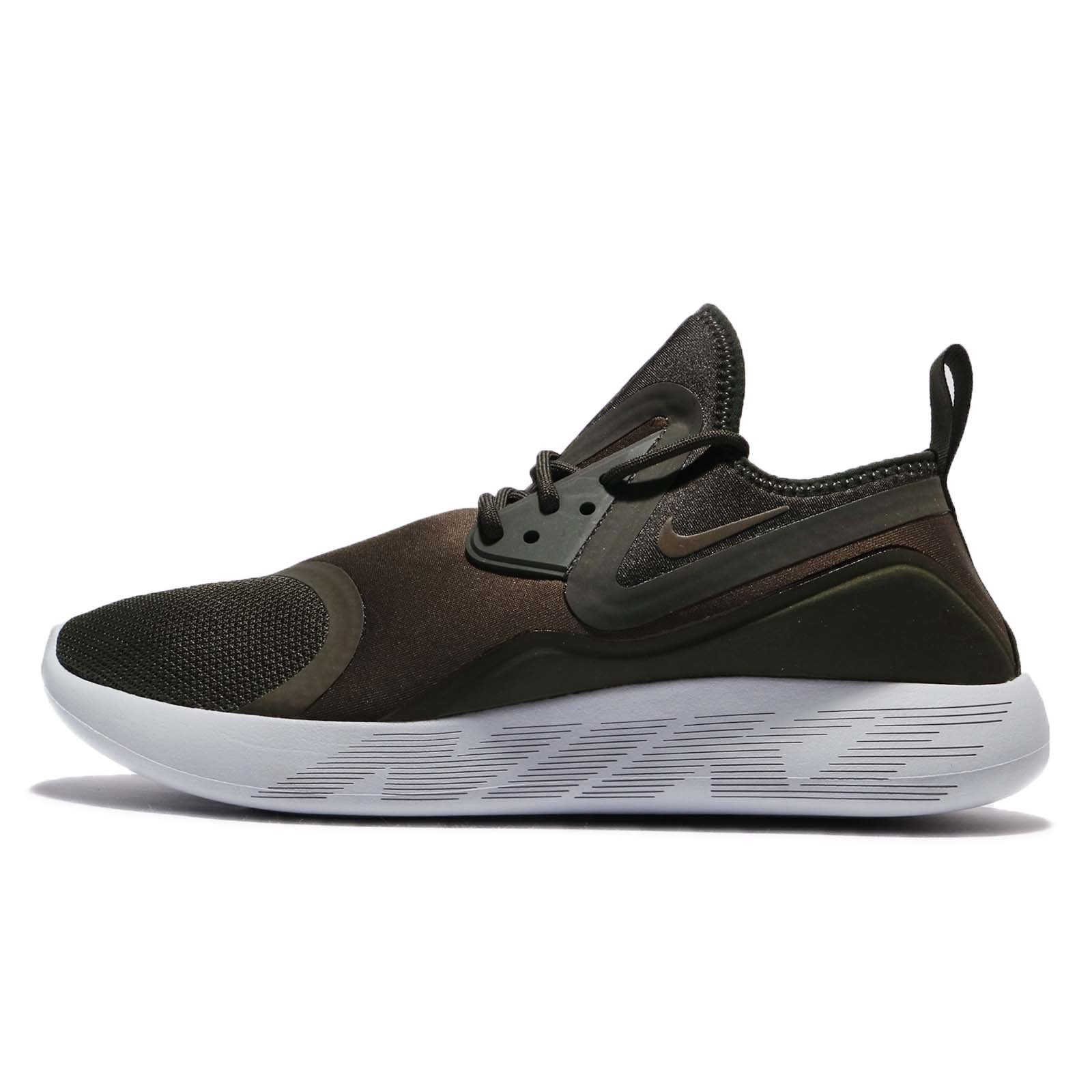 Nike Lunarcharge Essential Mens Running Trainers 923619 Sneakers Shoes (UK  11 US 12 EU 46, Cargo Khaki 301)