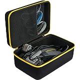 Khanka Hard Travel Case Replacement for Work Sharp Knife & Tool Sharpener/Ken Onion Edition (yellow zipper)