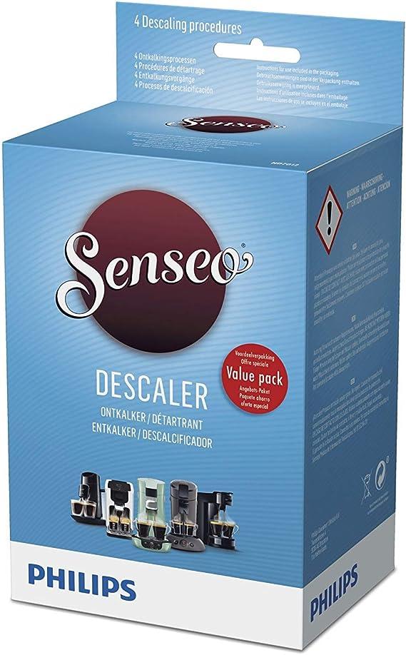 Philips HD7012/00 Senseo - Descalcificador para cafeteras (8 ...