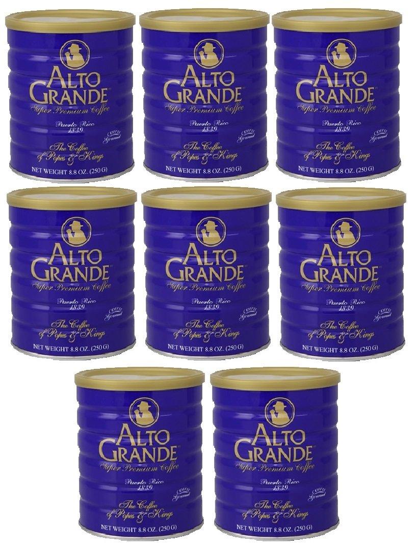 Alto Grande Super Premium Coffee Ground 8.8oz - 8 cans