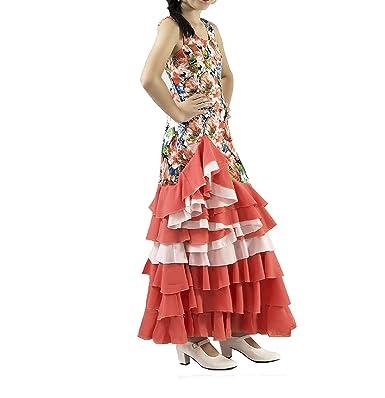 ANUKA Vestido de NIÑA para Danza Flamenco o sevillanas ...