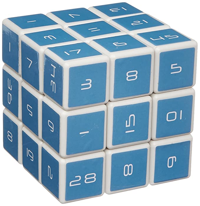 Amazon.com: The Number Cube Logic Puzzle: Toys & Games