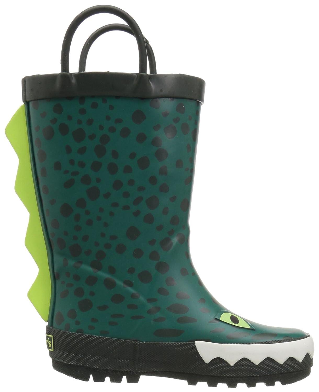 carters Boys Ryker Rain Boot Green 6 M US Toddler