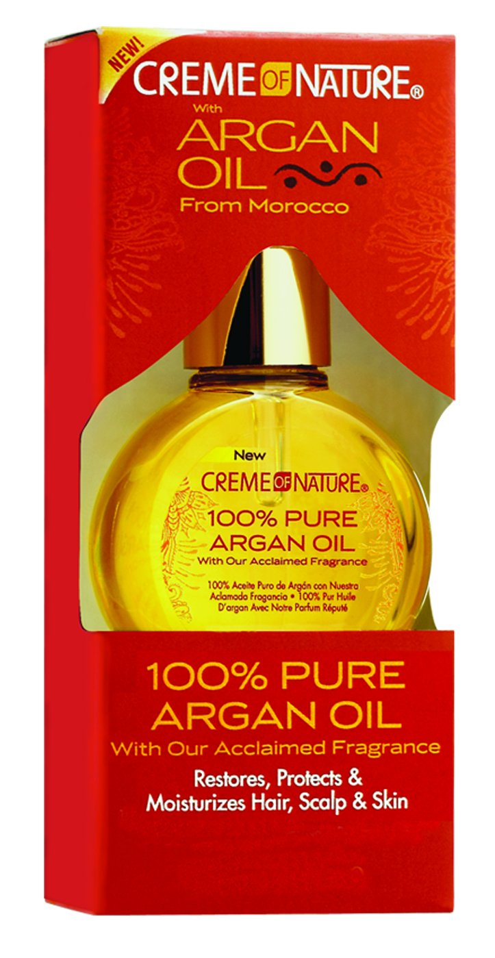 Creme of Nature 100% Pure Argan Oil, 1 Ounce