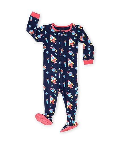 fc46c255dd342 elowel Pyjama Grenouillère Fusée Bien Serre