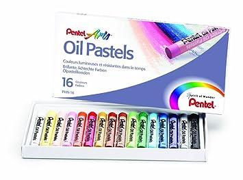 50 Piece Set Pentel Oil Pastel Set Artists Fade Resistant Colour Oil Pastels
